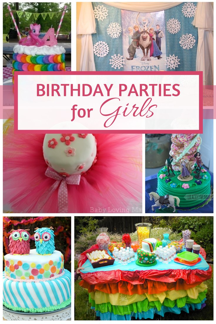 Birthday Parties for Girls 1