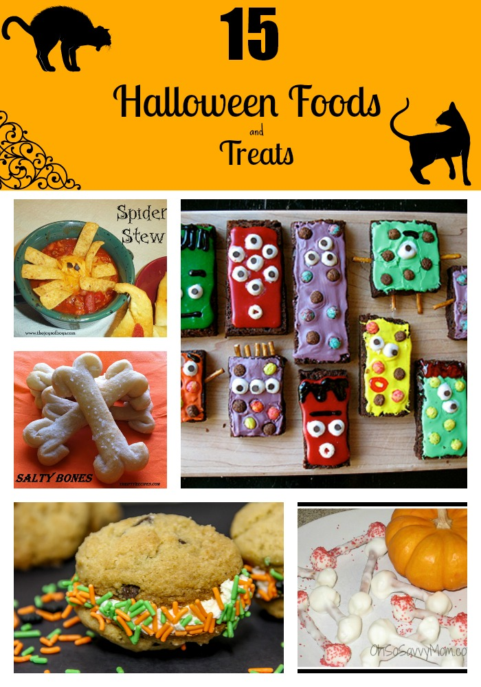 15 Halloween Foods and Treats  1