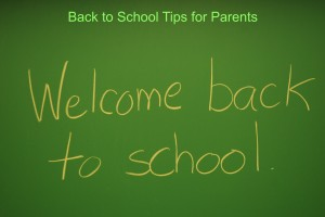 Back to School Tips for Parents  6