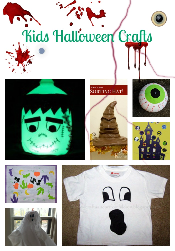 Kids Halloween Crafts 1