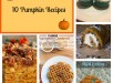 10 Pumpkin Recipes 2
