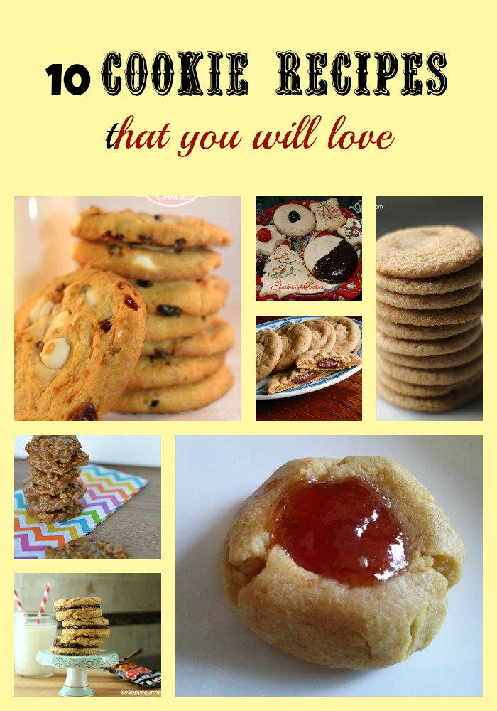 10 Cookie Recipes that you will  love 2