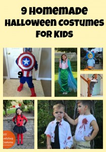 9 Homemade Halloween Costumes for  Kids