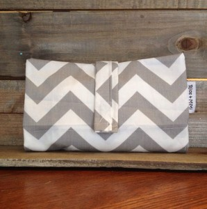 Grey_Chevron_Diaper_Clutch_1