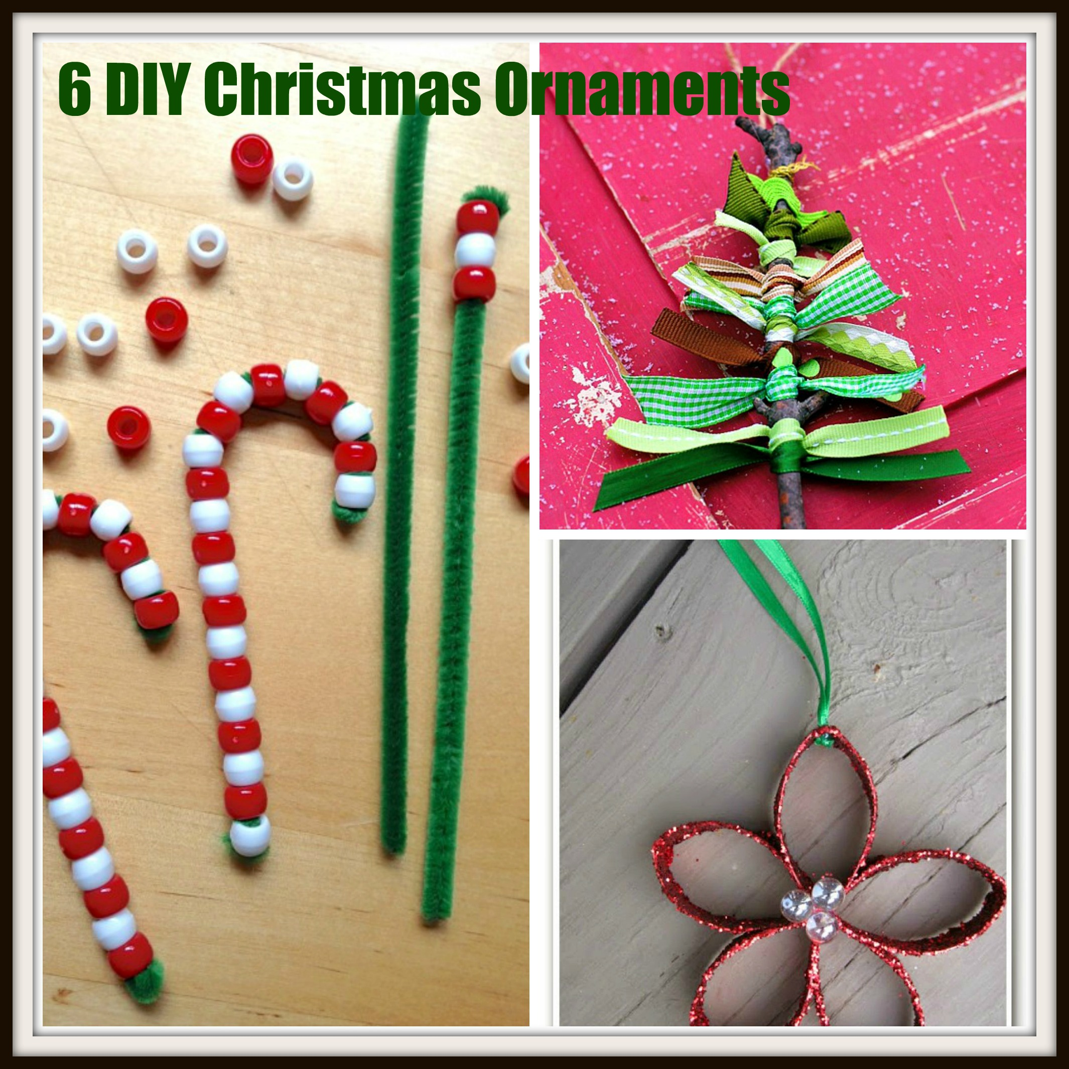 Drama christmas ornaments - 6 Christmas Ornament Crafts To Make With Your Kids