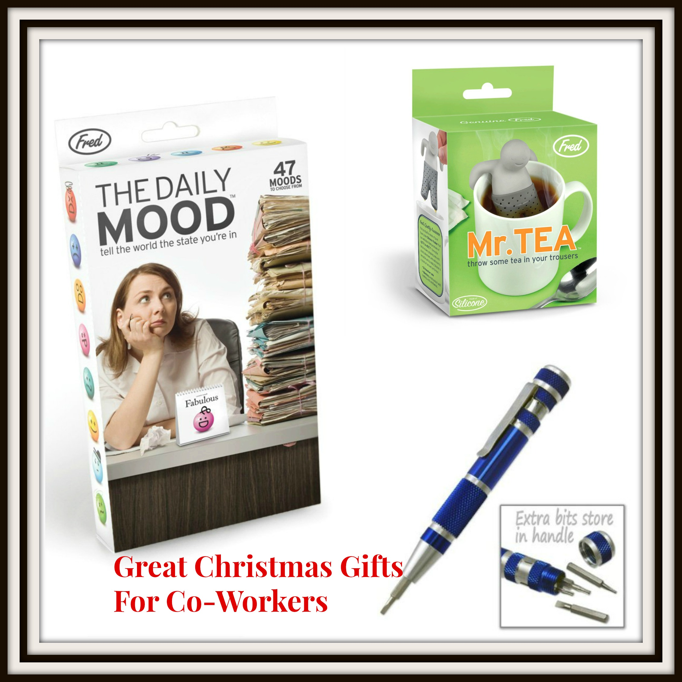 9 Great Christmas Gifts For Co-Workers – Saving Mamasita