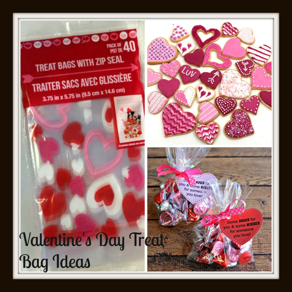 Diy Valentine S Day Treat Bags Saving Mamasita