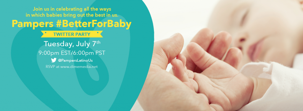 Pampers #BetterForBaby Twitter Party Invite_B