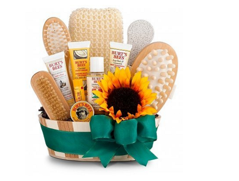 Bath & Body Invigoration Spa Gift Basket