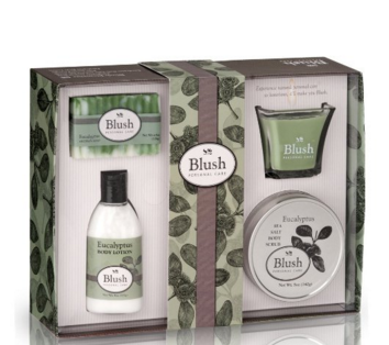 Eucalyptus Bath And Body Gift Set For Women