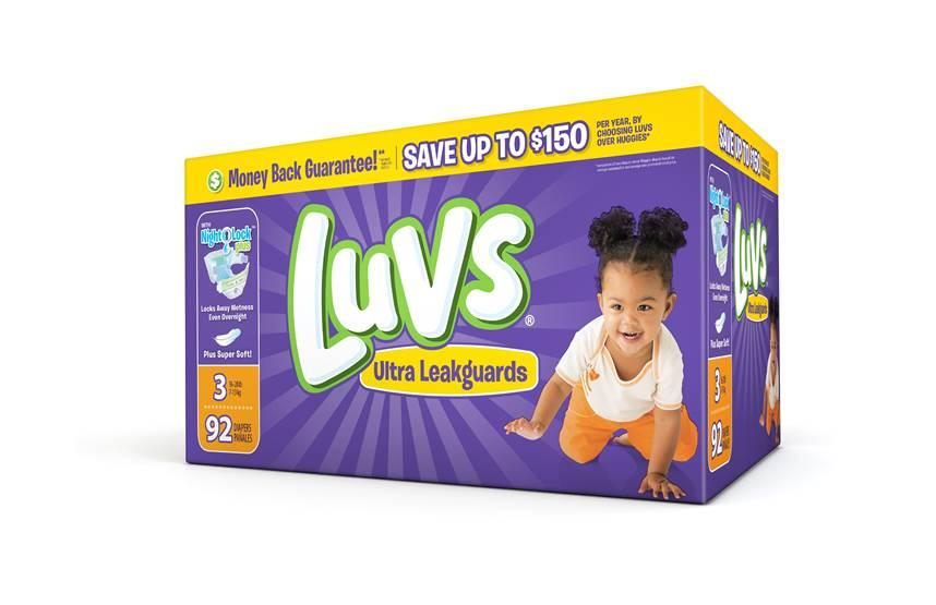 COUPON ALERT:  Save On Luvs With $2 Printable Coupon